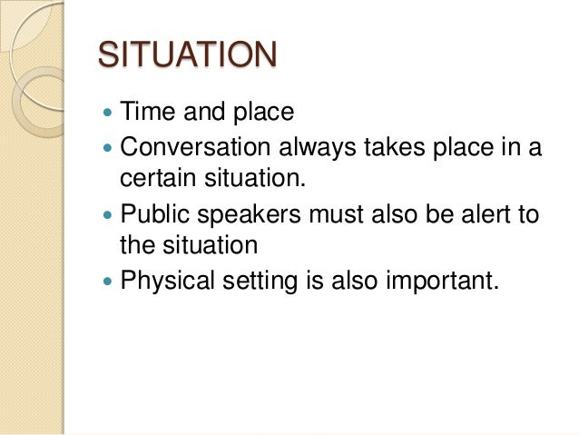 What Are The 7 Elements Of Public Speaking - slidesharetrick
