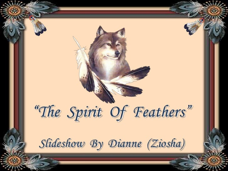 """""""The  Spirit  Of  Feathers""""<br />Slideshow  By  Dianne  (Ziosha)<br />"""