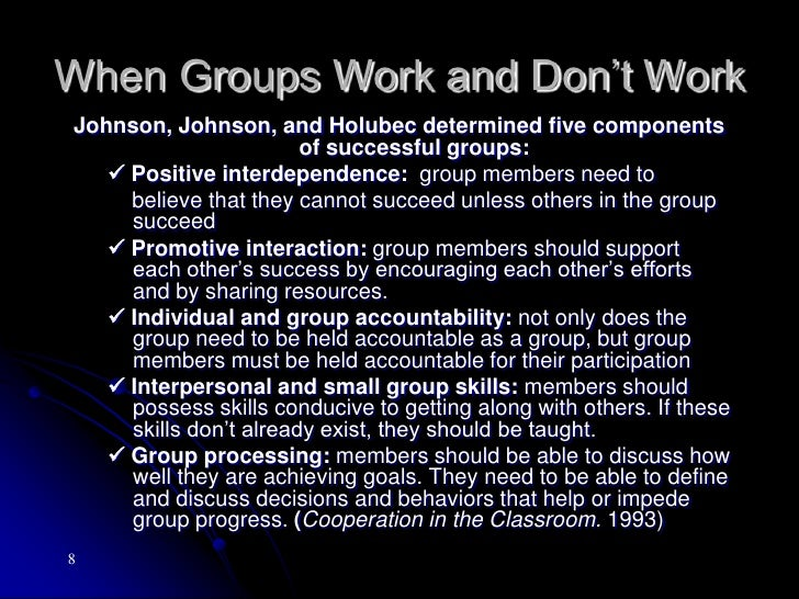 Why Do People Need to Learn to Work Together? (cont.)<br />4. Innovation – the desire to create inspires innovation and in...