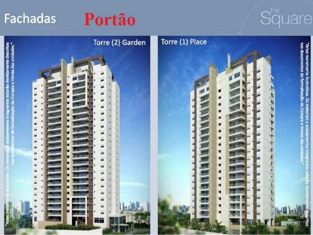 The square  r$: 585 mil - 126 privativos Portão - 41  9609-7986 Pronto para morar