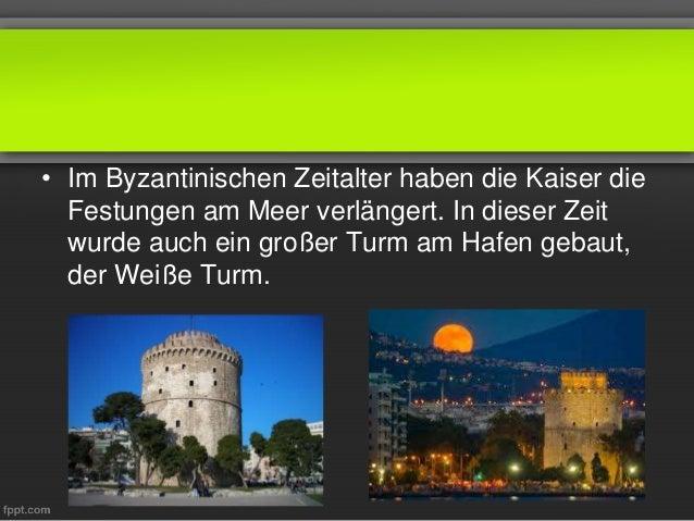 • Im Byzantinischen Zeitalter haben die Kaiser die Festungen am Meer verlängert. In dieser Zeit wurde auch ein großer Turm...