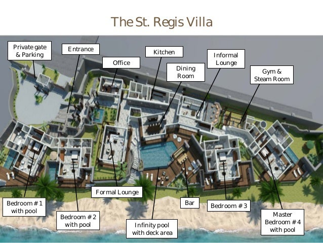 St Regis Villa At St Regis Mauritius