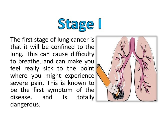 The Stages of Lung Cancer Caused by Smoking