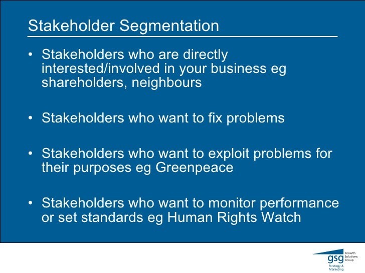 stakeholders greenpeace Top 10 stakeholder issues report of 2015 each year, future 500 releases a top 10 report of what we predict will be the most critical issues driving stakeholder engagement in the coming year it consists of a breakdown and analysis of the key issues based on interactions with a broad range of stakeholders – funders, activists, companies and.