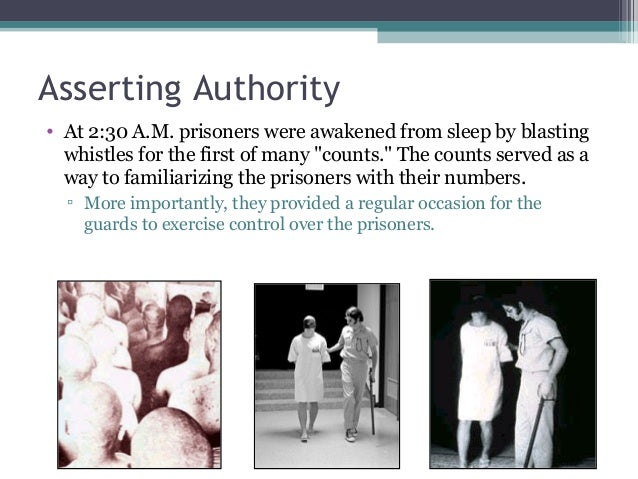 """Asserting Authority • At 2:30 A.M. prisoners were awakened from sleep by blasting whistles for the first of many """"counts.""""..."""