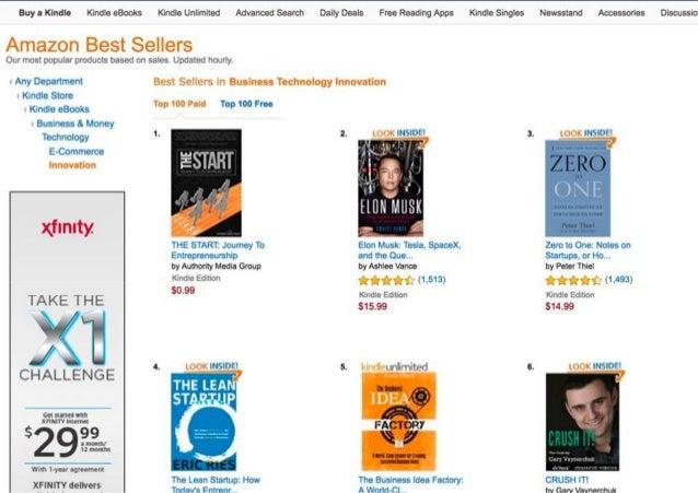 """""""The Start"""" book - an Amazon Best Seller"""