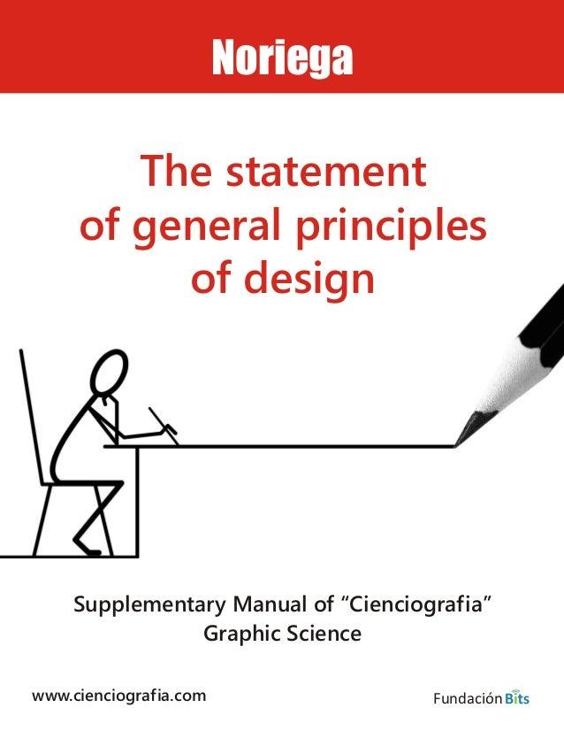 "www.cienciografia.com Supplementary Manual of ""Cienciografia"" Graphic Science Noriega The statement of general principles ..."