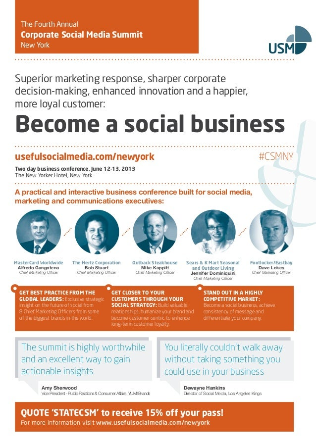 The State of Corporate Social Media 2013