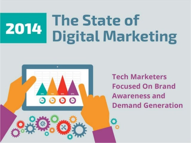 The State of Digital Marketing         Tech Marketers Focused On Brand Awareness and Demand Generation