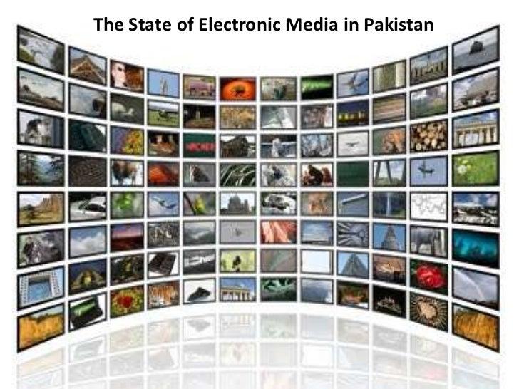 electronic media in pakistan