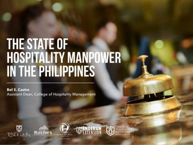The State of the Hospitality Manpower in the Philippines