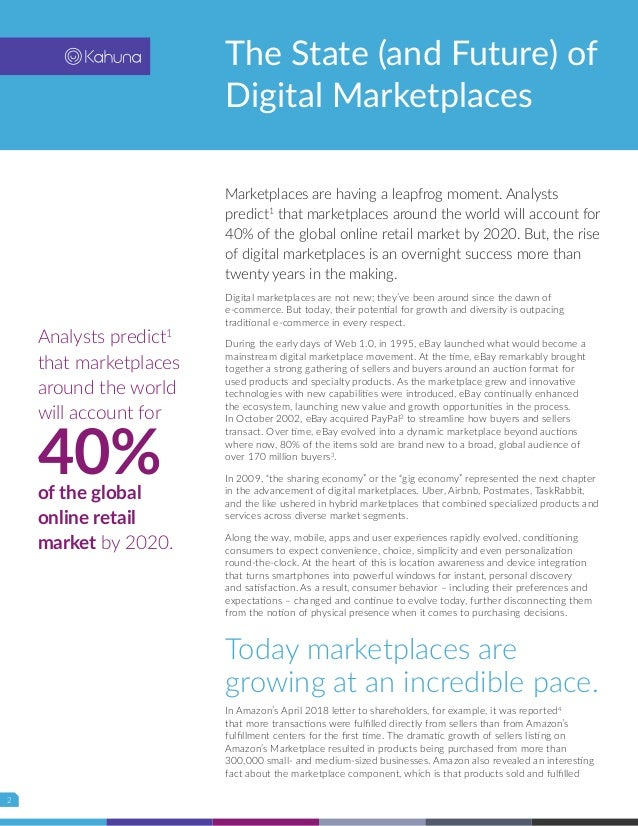 The State (and Future) of Digital Marketplaces by Brian Solis Slide 2