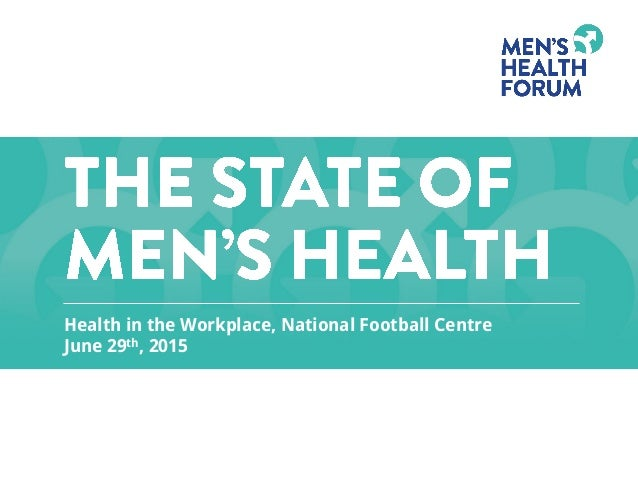 Health in the Workplace, National Football Centre June 29th, 2015