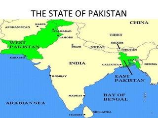 West Pakistan Map