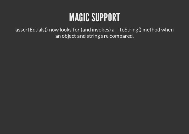 LESS MAGIC NUMBERS    @expectedException* now works with constants:/* * *@xetdxeto Cas    epceEcpin ls *@xetdxetoCd @ls:TA...