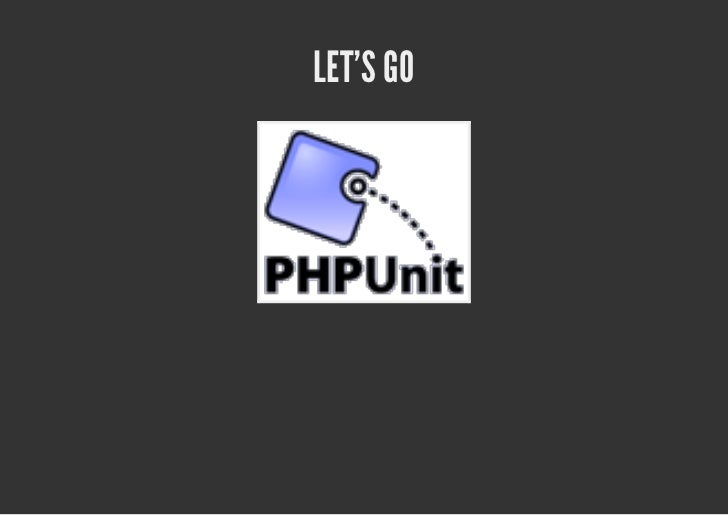 Unit testing in PHP got mainstream
