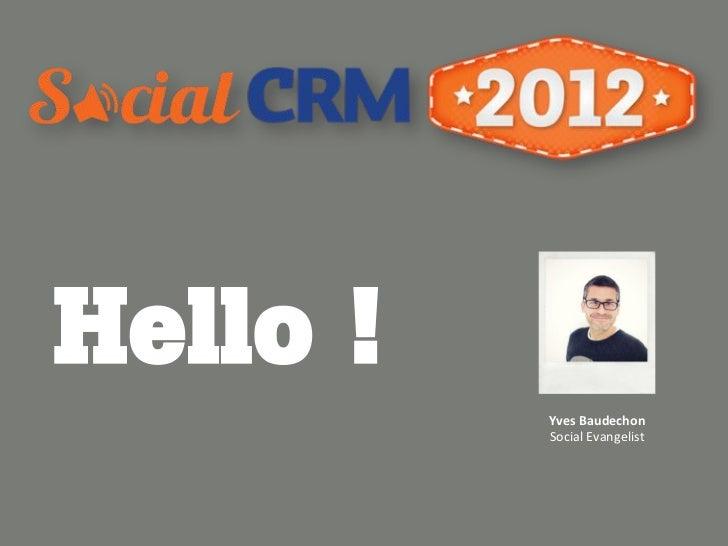 Hello !          Yves%Baudechon%          SocialEvangelist