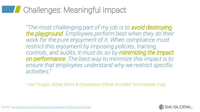 The State of The Chief Compliance Officer 2018 - SAI Global