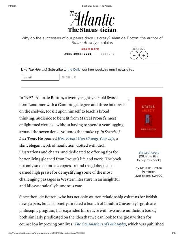 8/4/2016 The Status-tician - The Atlantic http://www.theatlantic.com/magazine/archive/2004/06/the-status-tician/303387/ 1/...