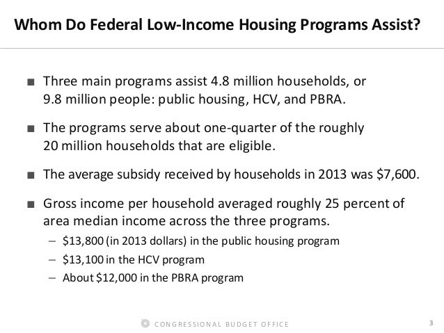 What are the requirements for receiving low-income housing assistance?