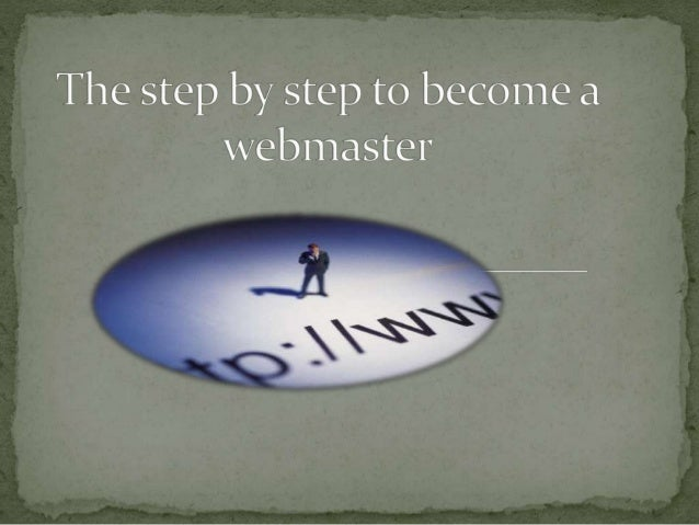  The teacher at the university asked us to do all of this:  BECOME A WEBMASTER  BUY A DOMAIN NAME  BUY A HOSTING SPACE...
