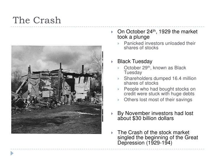 The Stock Market Crash Of 1929
