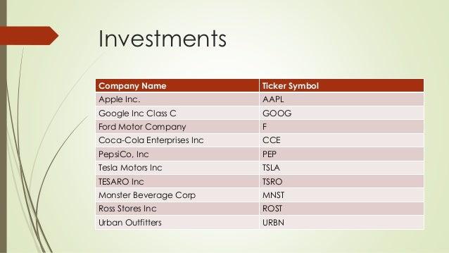 The Stock Market Game Presentation