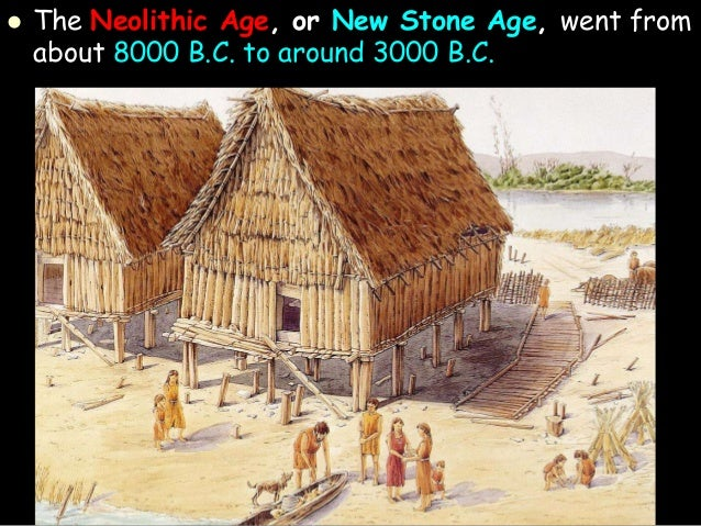 old stone age to new stone age