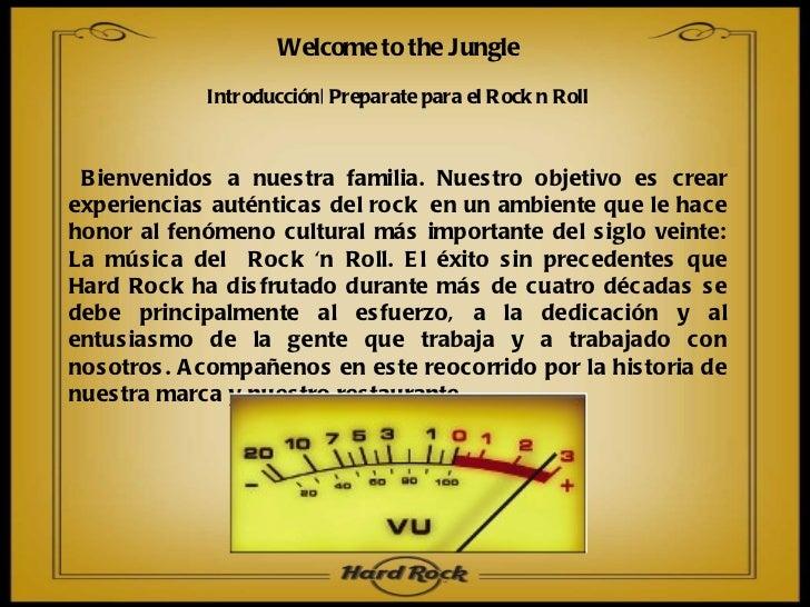 Introducción| Preparate para el Rock n Roll Bienvenidos a nuestra familia. Nuestro objetivo es crear experiencias auténtic...
