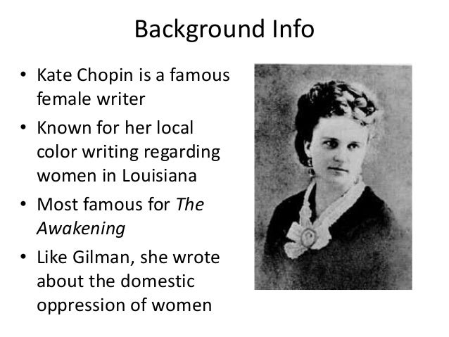 story of an hour essay thesis Read this english essay and over 88,000 other research documents kate chopin: the story of an hour kate chopin: the story of an hour (1894.