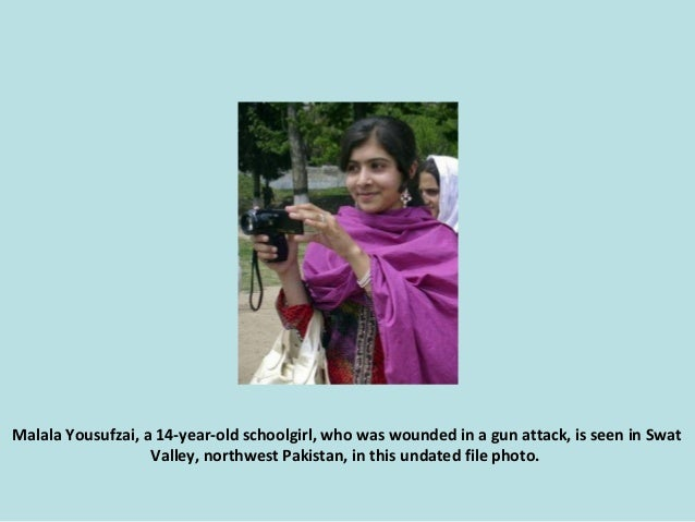 Malala Yousufzai, a 14-year-old schoolgirl, who was wounded in a gun attack, is seen in Swat Valley, northwest Pakistan, i...