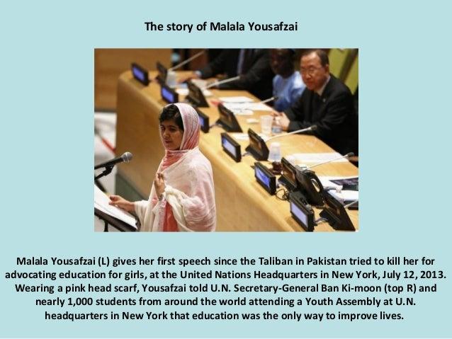 The story of Malala Yousafzai. (Nikos) Slide 2