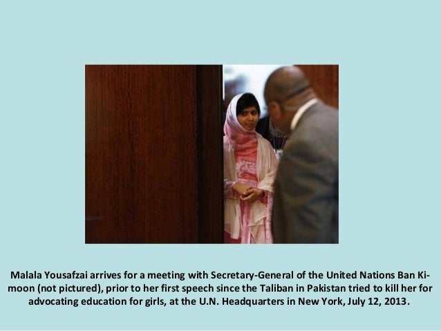 The story of Malala Yousafzai. (Nikos) Slide 3