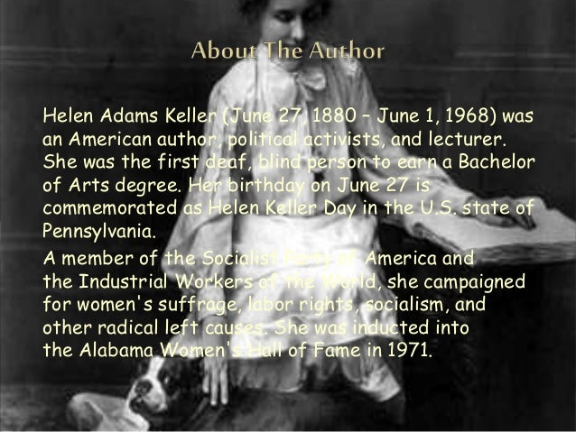 helen adams keller amazing story Posts about short story of great person written by immstories  helen adams keller was her deaf and blind disciple despite being handicapped,.