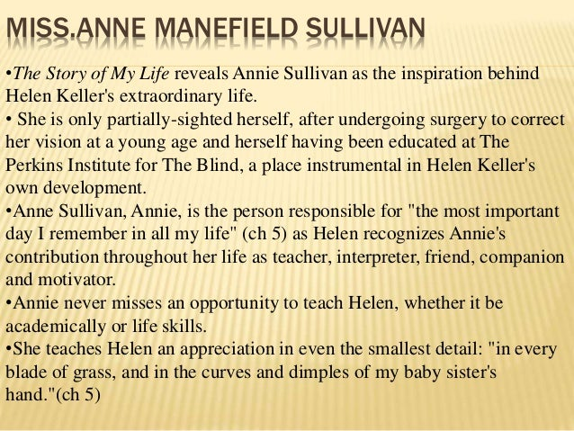 character sketch of anne sullivan