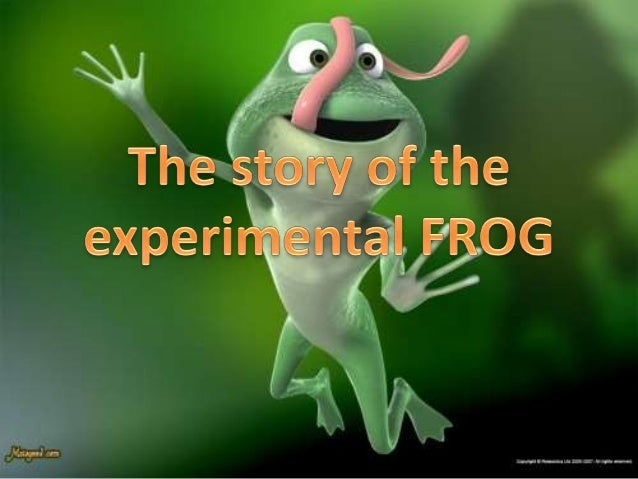 The Obsession of the Rock 'n' Roll Frog