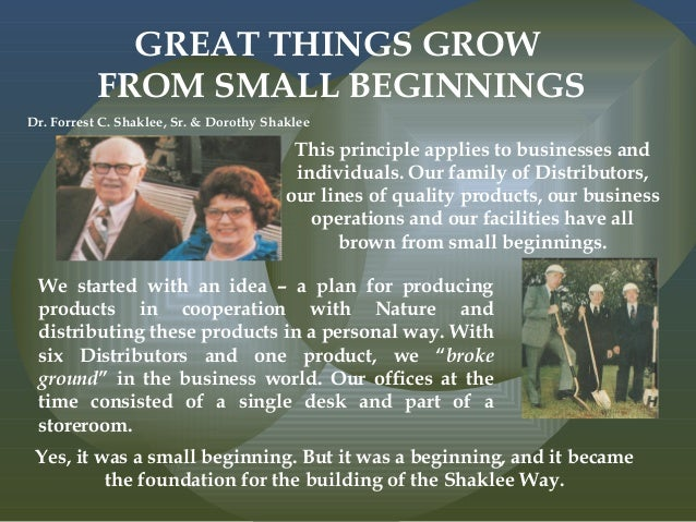 Story of The Shaklee Difference