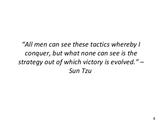 sun tzu strategic management Sun tzu was a chinese general, strategist and philosopher (500 bc) he often wrote about the importance of strategy and seamless execution in warfare his highly revered book, the art of war.