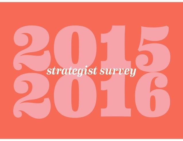201 2016 strategist survey 5