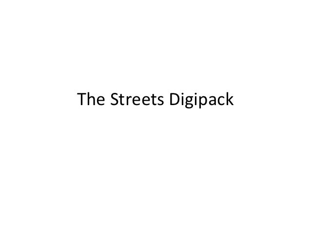 The Streets Digipack
