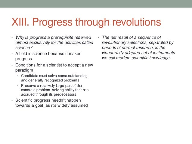 the structure of scientific revolutions essay Ix the nature and necessity of scientific revolutions these remarks permit us at last to consider the problems that provide this essay with its title.