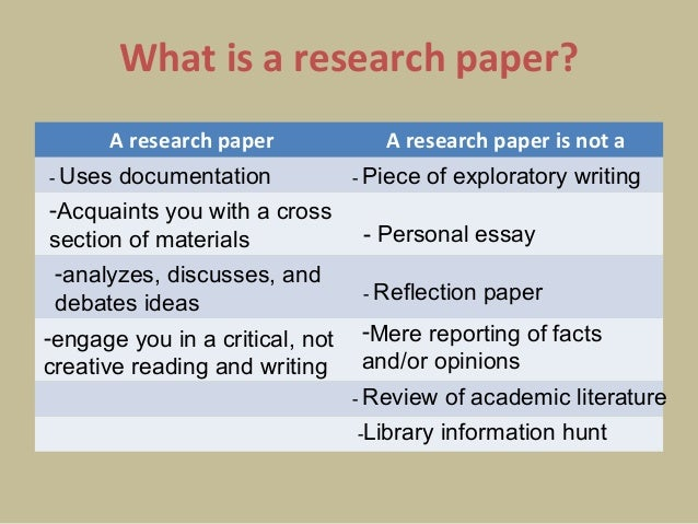 what is a research paper about How to write a research paper when studying at higher levels of school and throughout college, you will likely be asked to prepare research papers a research paper can be used for exploring and identifying scientific, technical and.