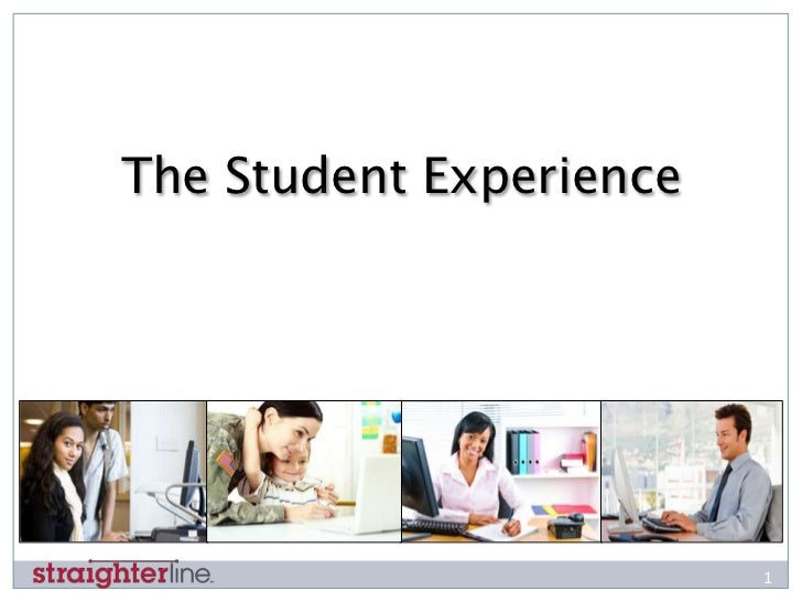 The Student Experience                         1