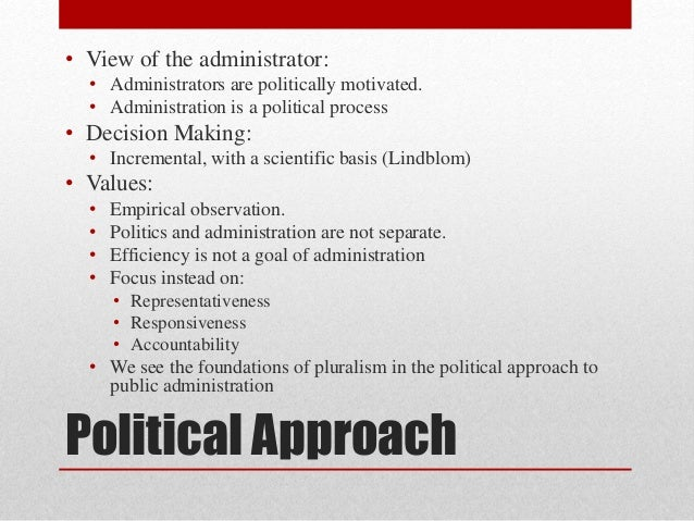 Comparative Public Administration: Historical and ...