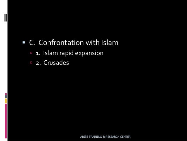 Christianity and Islam: A Case for Comparison and Contrast
