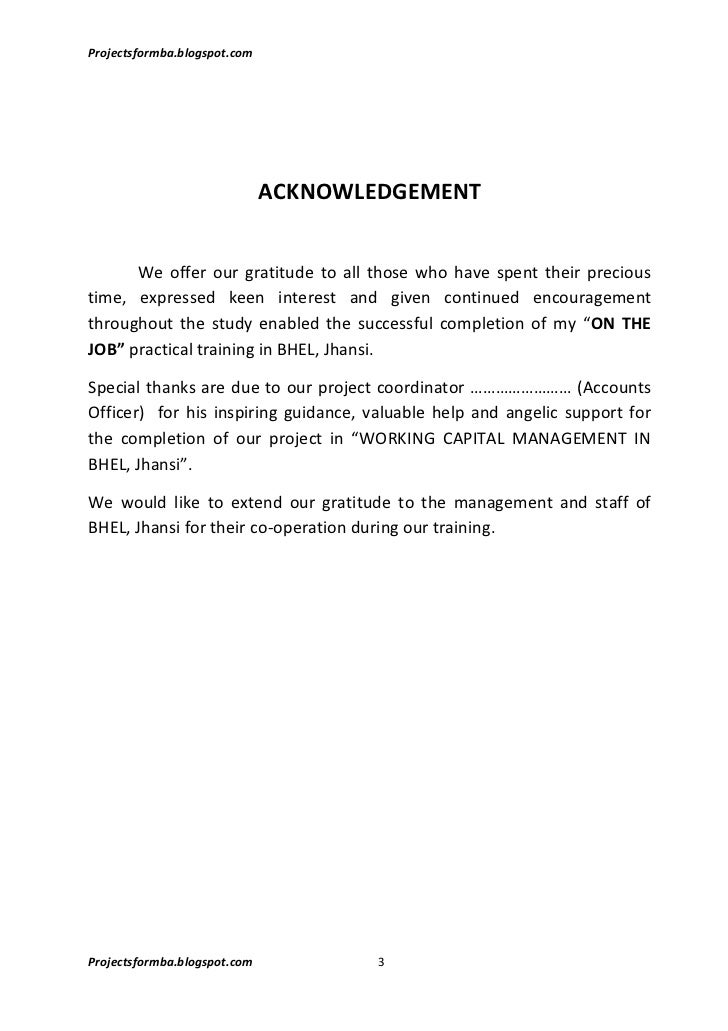 """a study on working capital in A study on working capital in """"sri venkateswara cooperative sugarfactorltd"""" tirupati at gajulamandyam chapters table of contents page nos 2."""