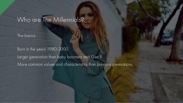 Millennial women seeking gen x men
