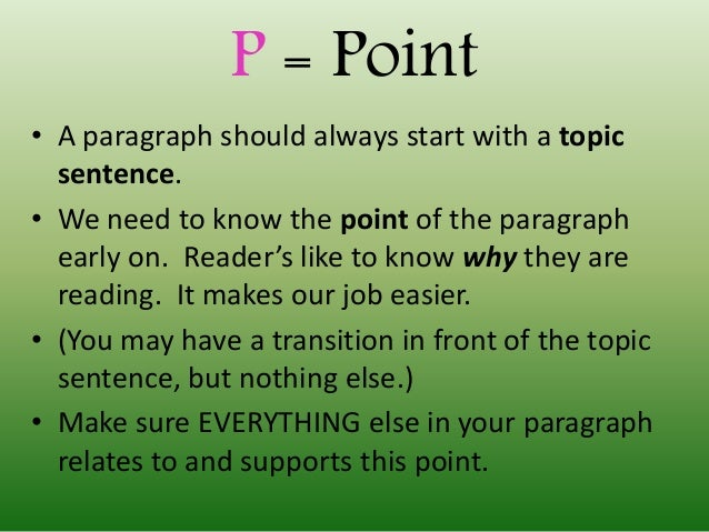 point and evidence paragraph Choosing and using evidence purpose of evidence evidence is any type of information that will convince readers that a point or claim is reasonable or correct.
