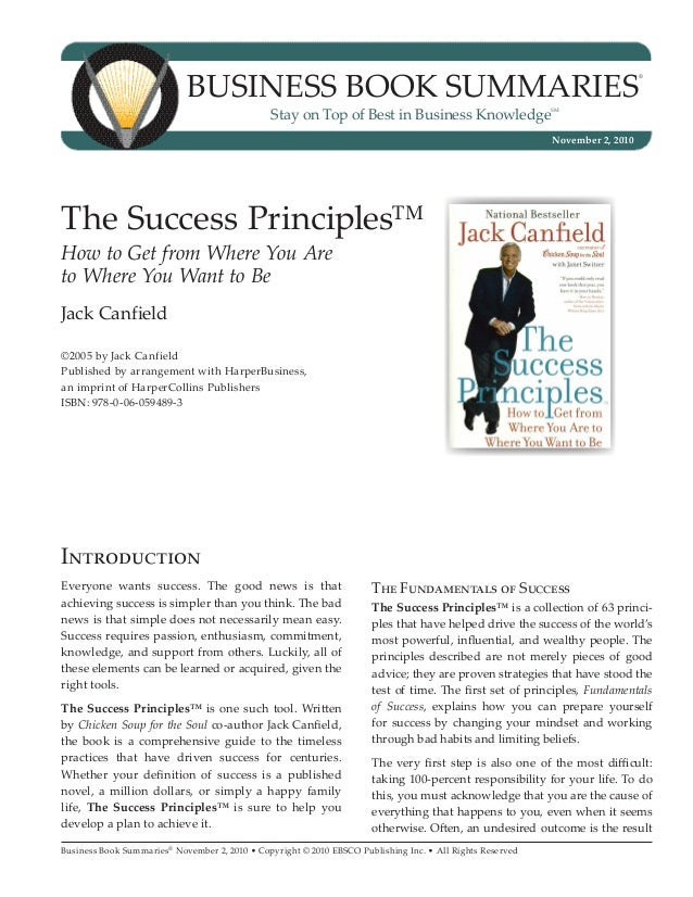Business Book Summaries®November 2, 2010 • Copyright © 2010 EBSCO Publishing Inc. • All Rights ReservedBUSINESS BOOK SUMMA...