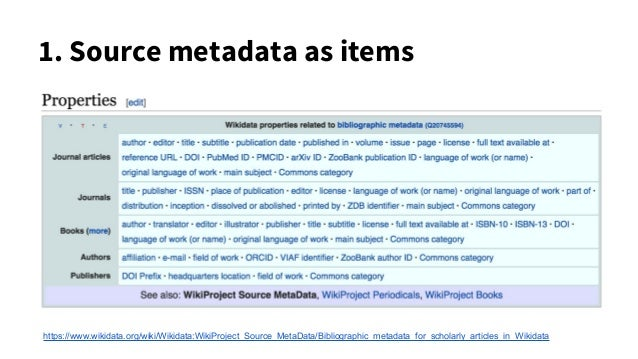 5. Link and annotate sources A is licensed as CC BY A is paywalled A was retracted A cites B A extends B A uses method in ...